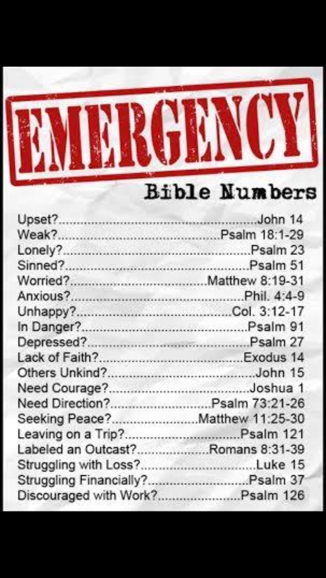 John 14 Psalm 18:1-29 Psalm 23 Psalm 27 Exdoud 14 Psalm