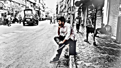 mumbai friend edit street people