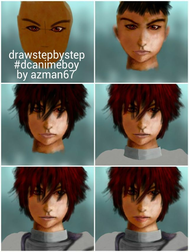 anime boy drawing tutorials