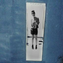 blackandwhite photography mirror selfie