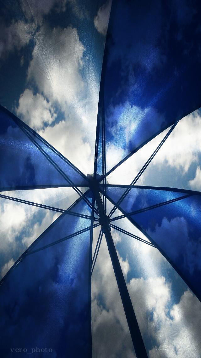 #myumbrella #colorsplash #clouds