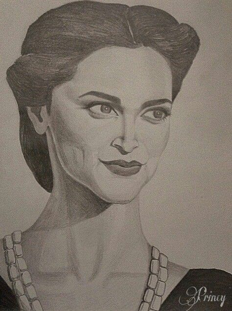 portrait pencil drawing art