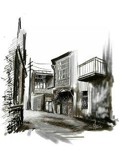 blackandwhite pencilart oldphoto sketch drawing