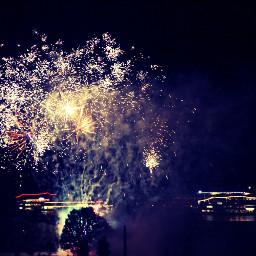 firework colorful colorsplash emotions nature