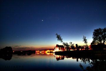 wapcityscape lights night evening skyline