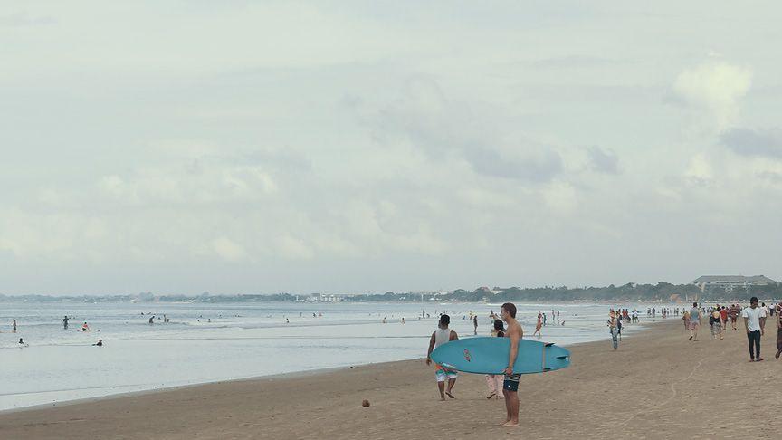 Kuta beach, Bali - Indonesia #travel #beach #nature
