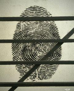 wapillusion identity gate mural blackandwhite