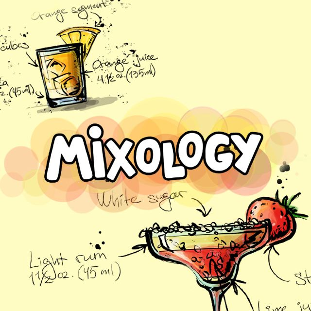 mixology cocktail clipart