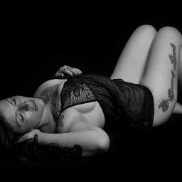 blackandwhite boudoir studio photography face