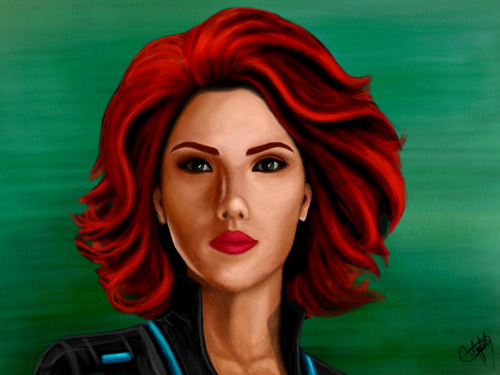 Drawingtime Blackwidow Avengers Scarlettjohanson Drawin