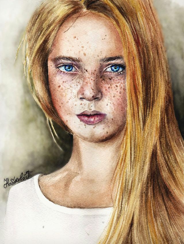 #artwork #mydrawing #drawing #girl #portrait.