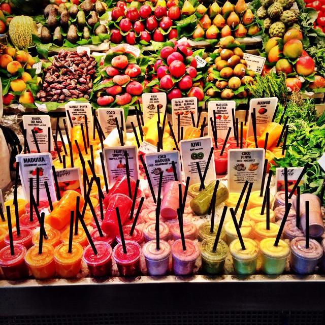 #interesting  #barcelona  #spain  #travel   #trip  #holiday   #fruit  #color