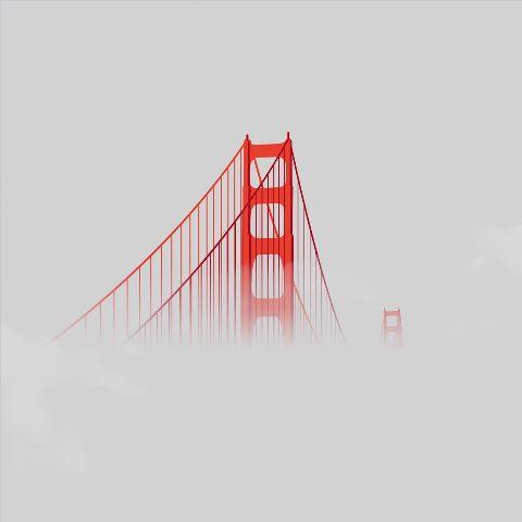 bridge goldengatebridge edit redandwhite