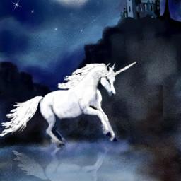 dchorns wdptwilight nightime mountains magical