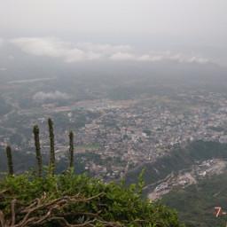 hillstation katra jammukashmir cloudysky nature