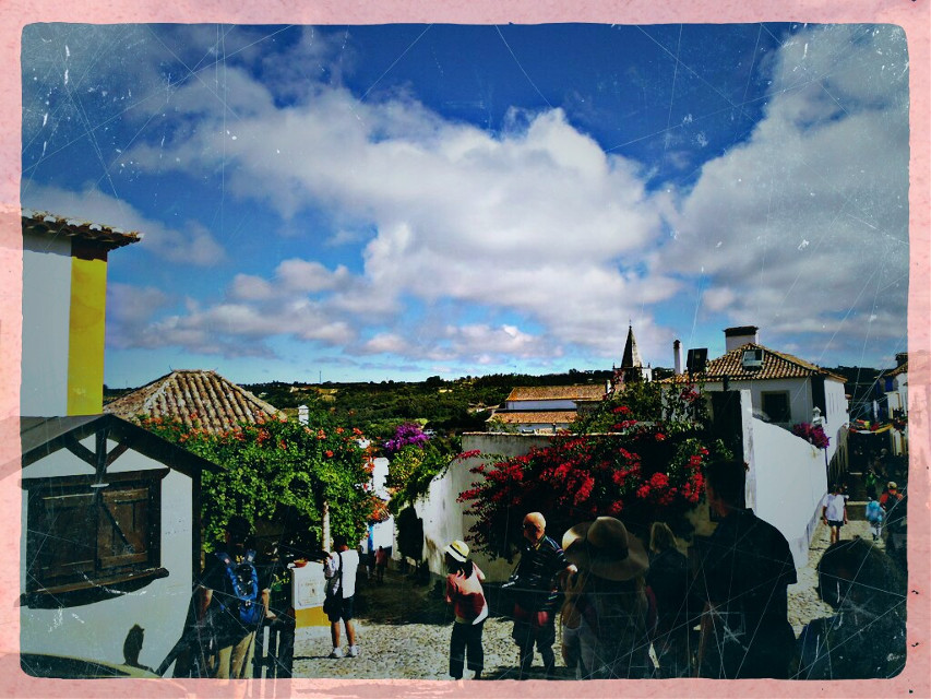 Welcome to the medieval village. Óbidos, Portugal  #medieval #vintage #travel