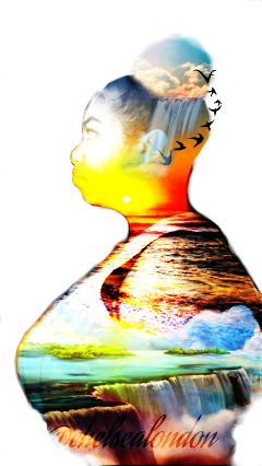 sunset doubleexposure 100 picsart dailyinspiration
