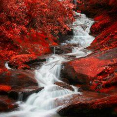 fall photography freetoedit waterfalls colorful