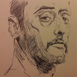 jeanreno drawing drawings artdraw art