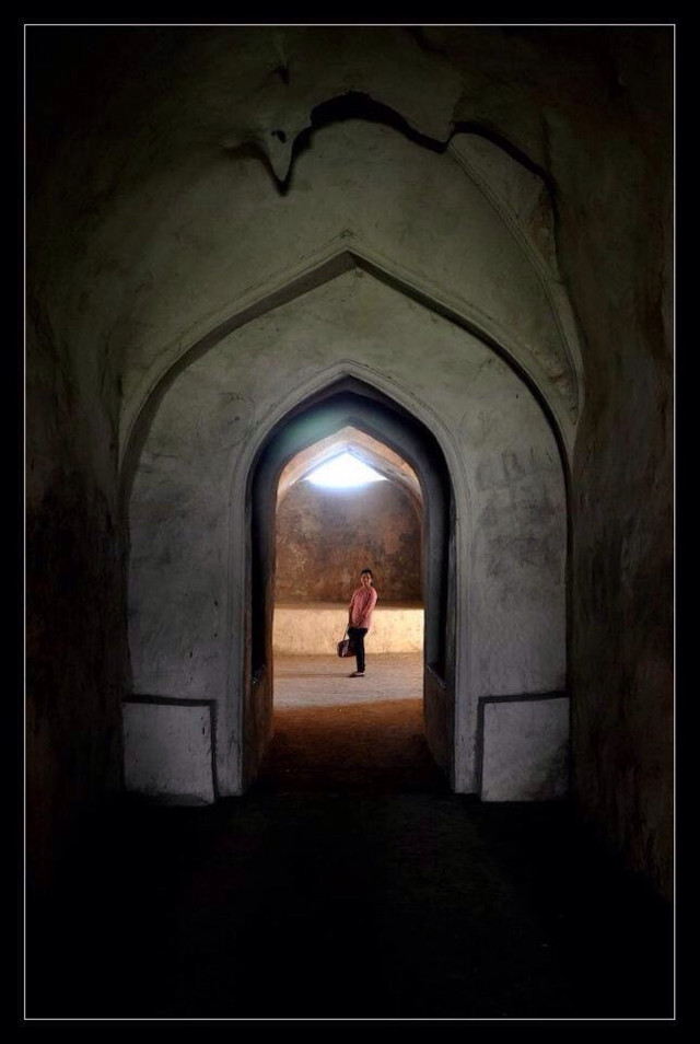 #architecture #fort #golconda #hyderabad #heritage #arches