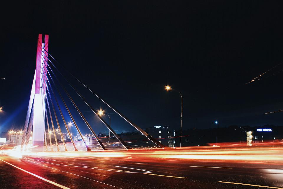 bandung Is beautiful at night and i love bandung indonesian  #lighttrail #explorebandung #colorful #photography #quotesandsayings