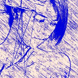 me selfportrait sketch picsarttools curves