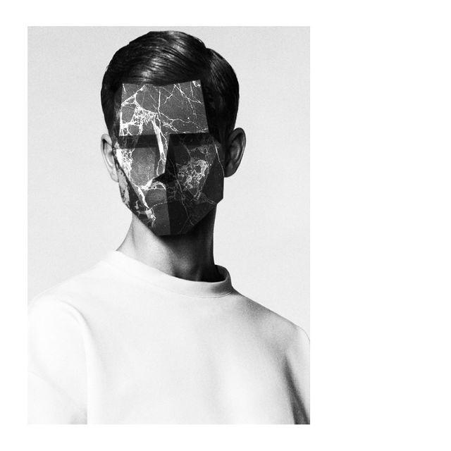 Face photo manipulation by @damepistachos