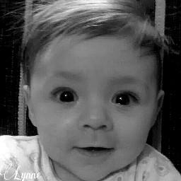 photography baby blac blackandwhite portrait