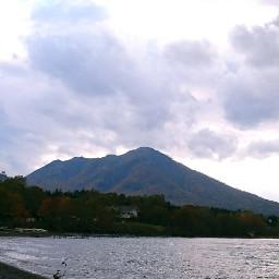 hokkaido japan mt mountain autumn